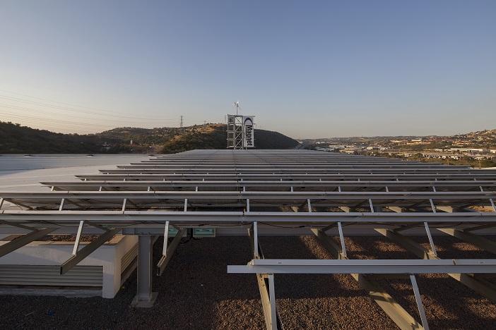 Magnet Head Office Solar Array