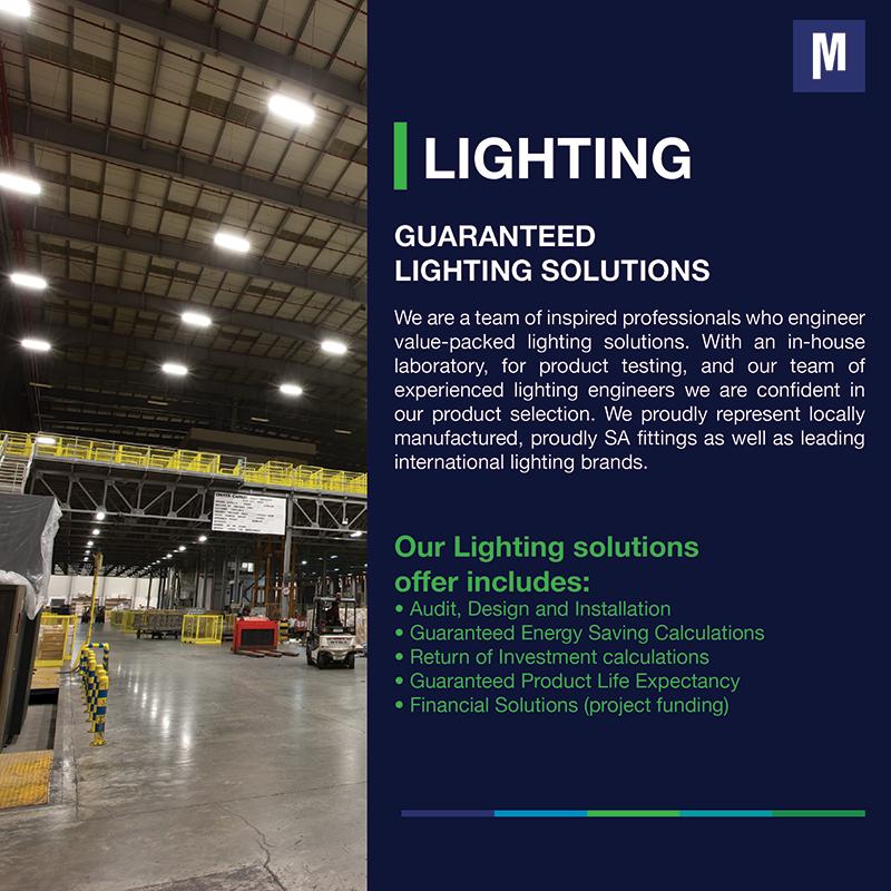 Guaranteed lighting solutions