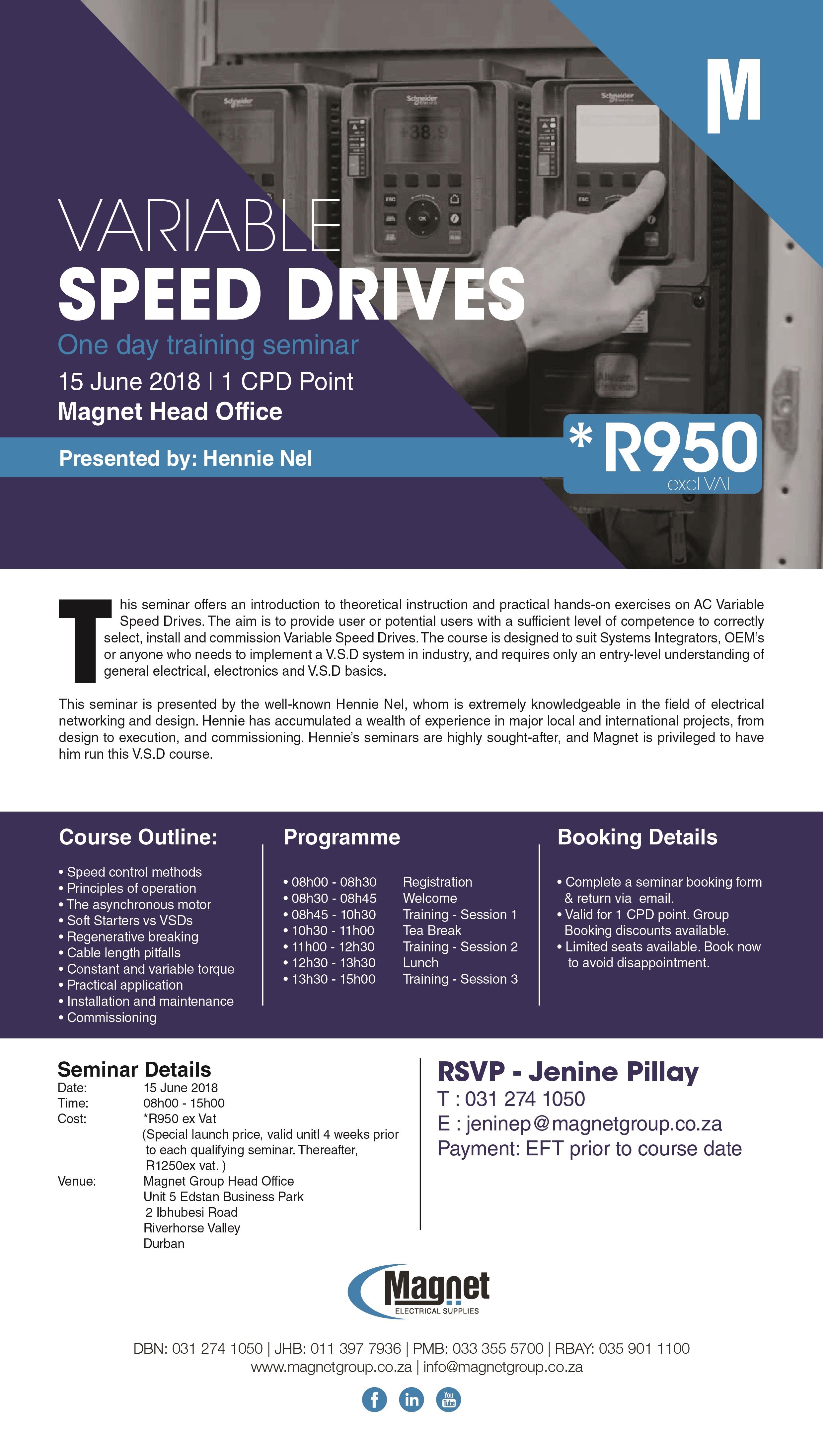 VSD Seminar - 15 June 2018
