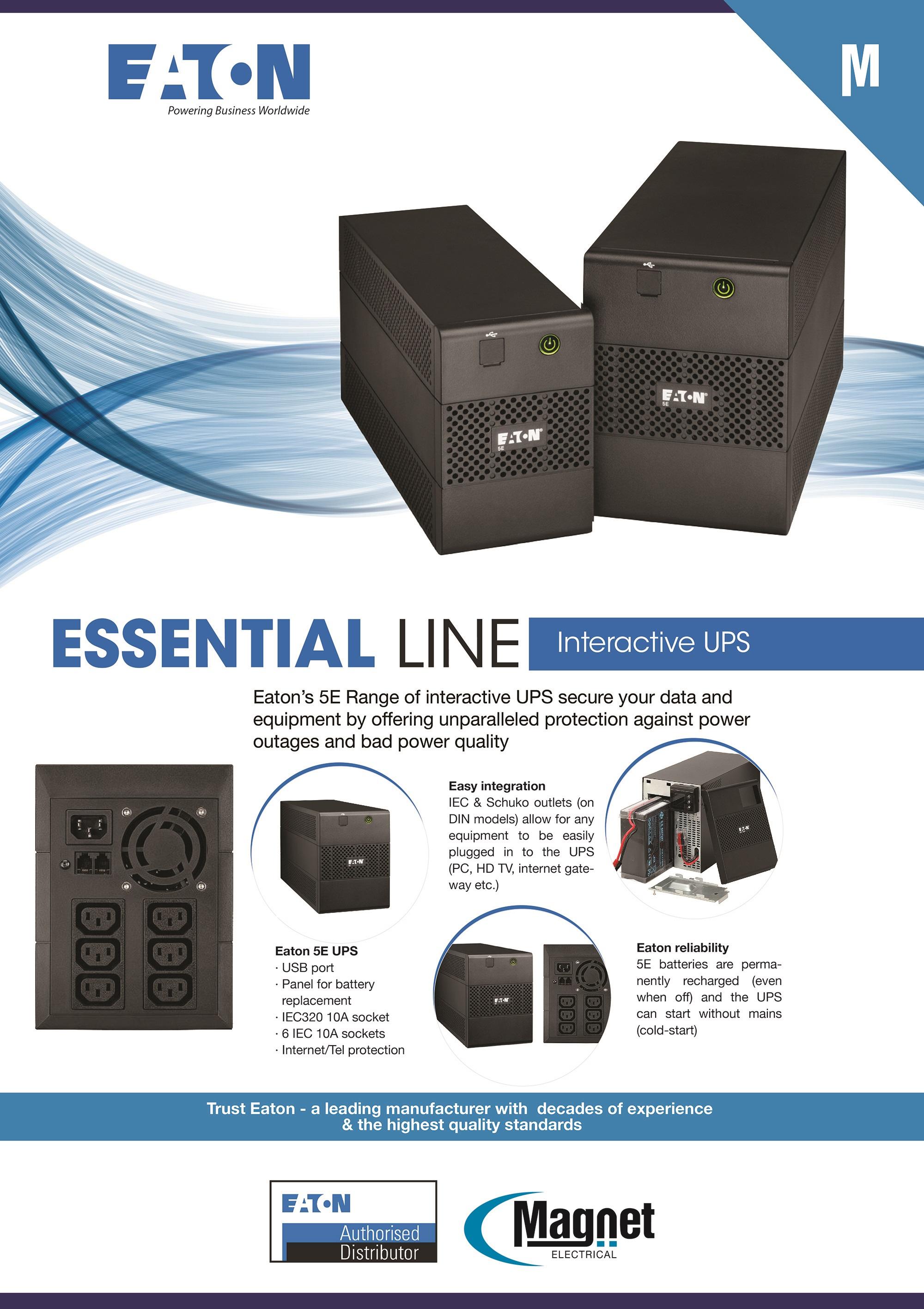 Eaton Easy Line UPS System
