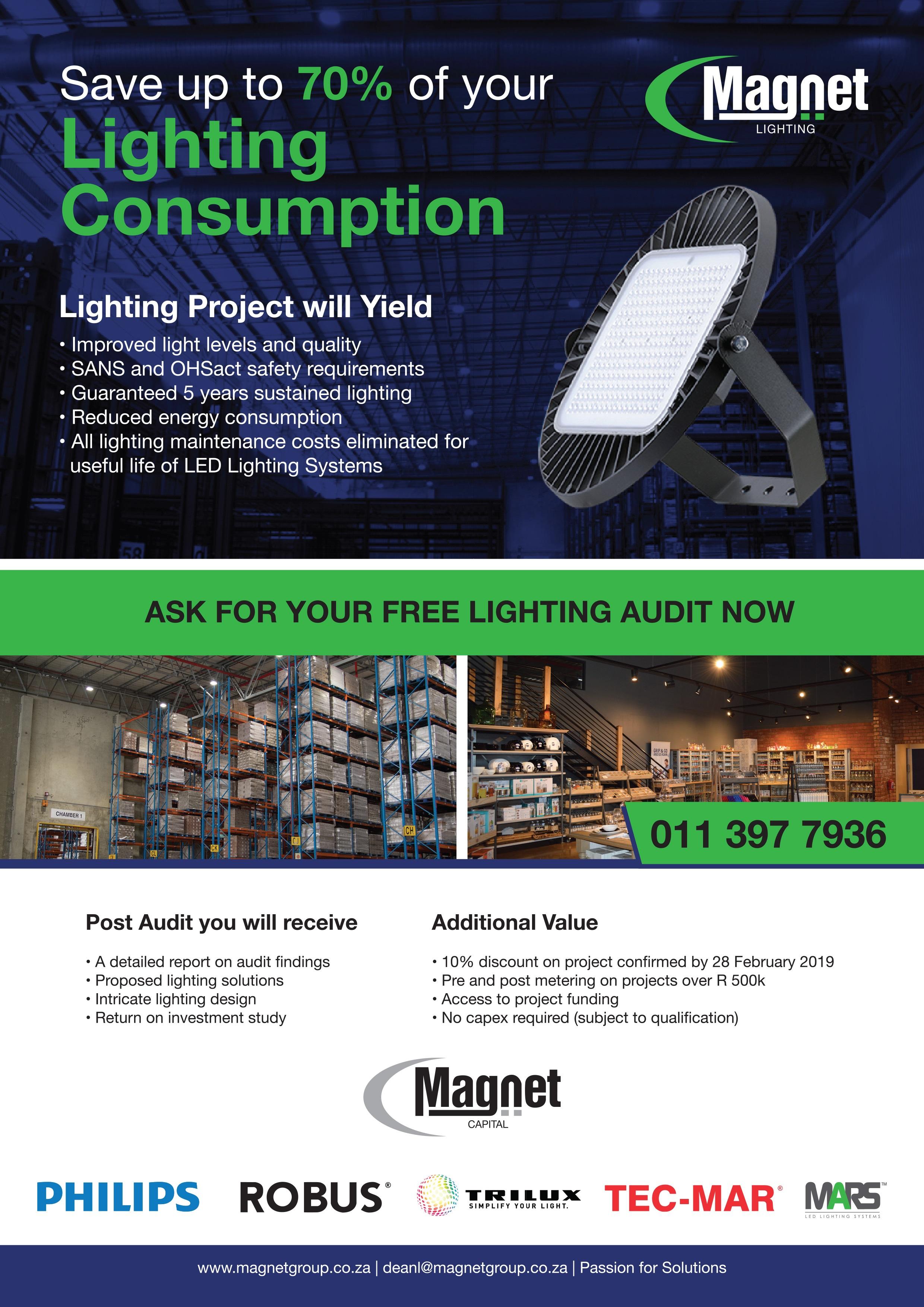 Magnet Saves Energy